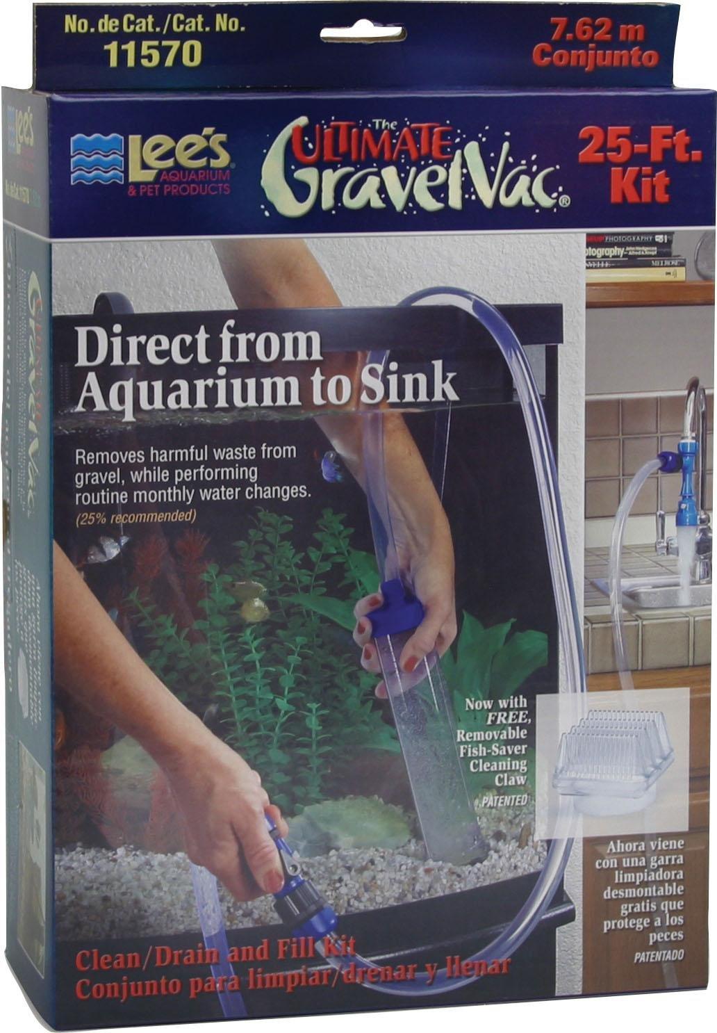 LEE'S AQUARIUM & PET Ultimate Gravel Vacuum Kit 25 Foot