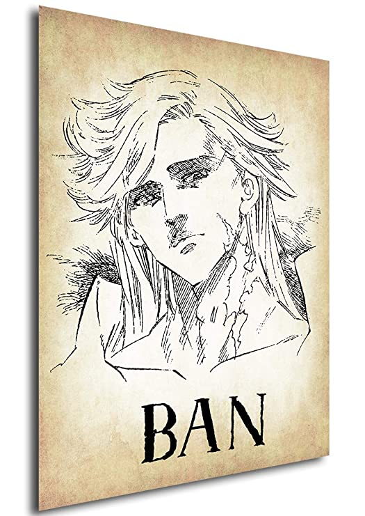 Posters Seven Deadly Sins Wanted Ban - A3 (42x30 cm): Amazon ...