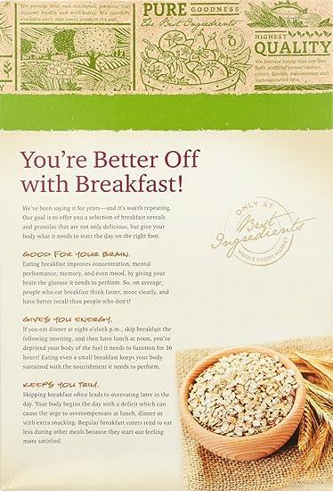 Amazon.com: 365 Everyday Value, Organic Fruit & Nut Granola ...