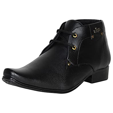 1341a7ee37 Knot n Lace Men's High Ankle Formal Shoes: Buy Online at Low Prices ...