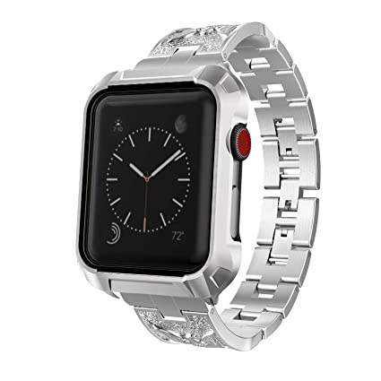 Amazon.com: Lwsengme - Carcasa para Apple Watch de 1.654 in ...