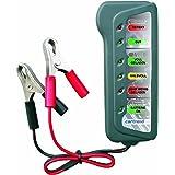 Cartrend 96156 - Medidor de baterías y luces con pantalla LED