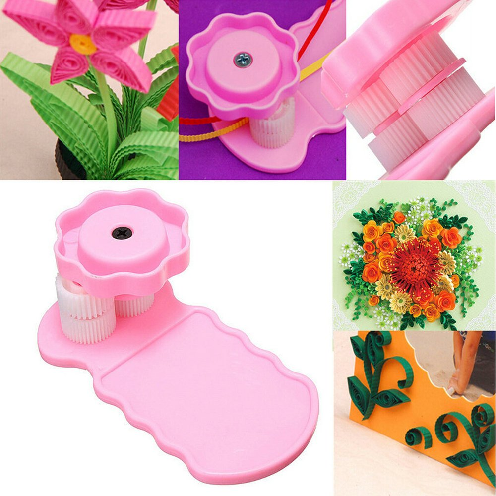 Quilling Kit y papel Set 17pcs Set 780/hojas color DIY herramienta de artesan/ía de papel para