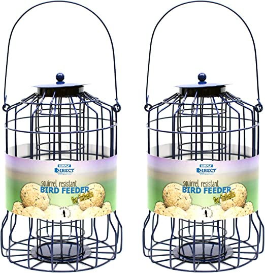 Wild bird squirrel guard fatball fat ball suet feeder feed deals FREE P+P
