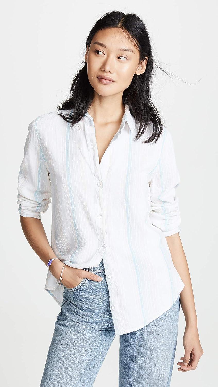 Bella Dahl Womens Classic Button Down Shirt