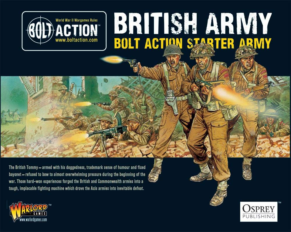 Bolt Action British Army Starter Army - Warlord Games