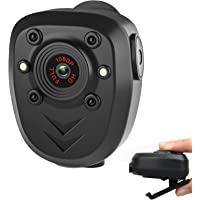 Mini Body Camera Video Recorder, Wearable Police Body cam with Night Vision, Built-in 32GB Memory Card, HD1080P,Record…