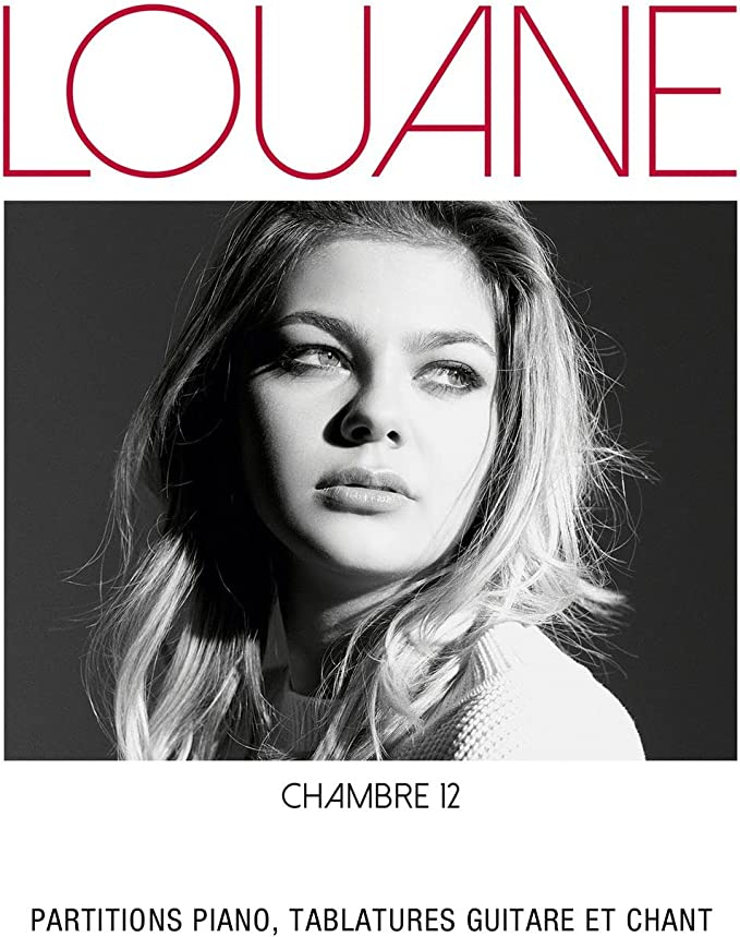 Louane Chambre Piano Vocal And Guitar Book Amazon Co Uk Musical Instruments