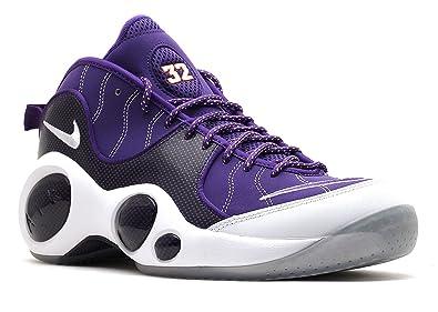 889929dc7369 NIKE Air Zoom Flight 95 J Kidd PE Mens Basketball Shoes 574724-500 Court  Purple