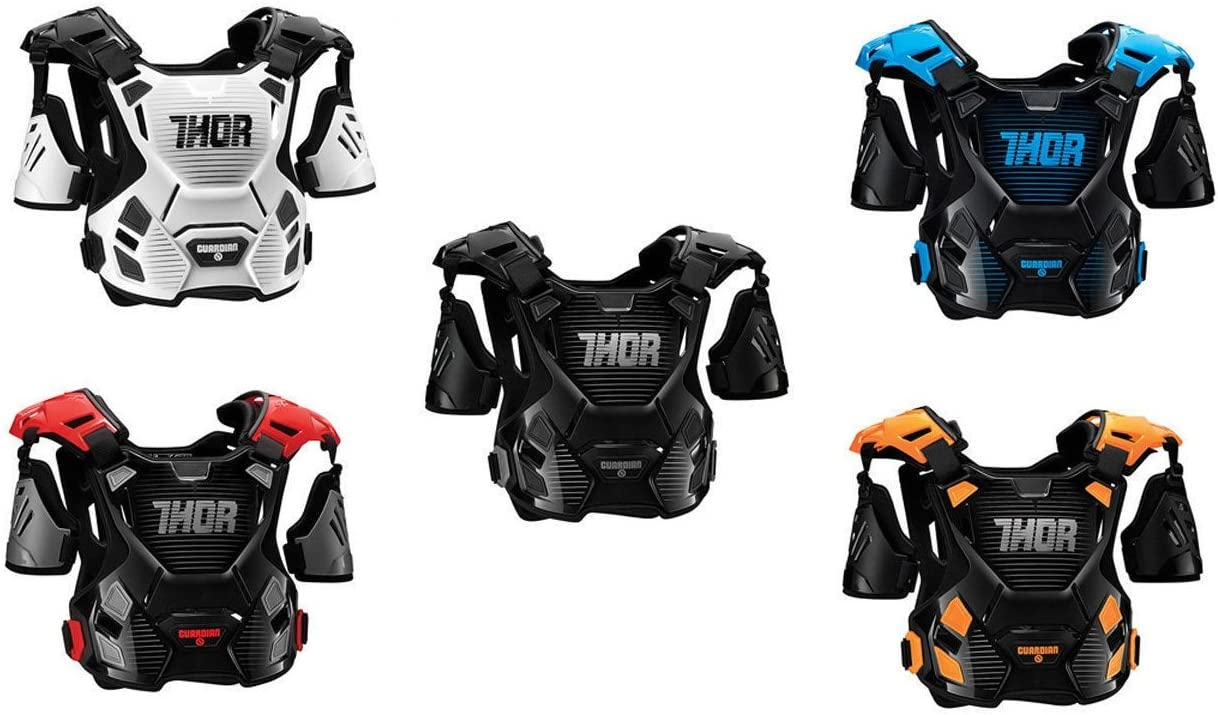 Thor S17 GUARDIAN Motocross Adults Body Armour Mx Motorcycle Quad Dirt Bike BMX Enduro Off Road ATV Racing Chest Spine Guard Protector