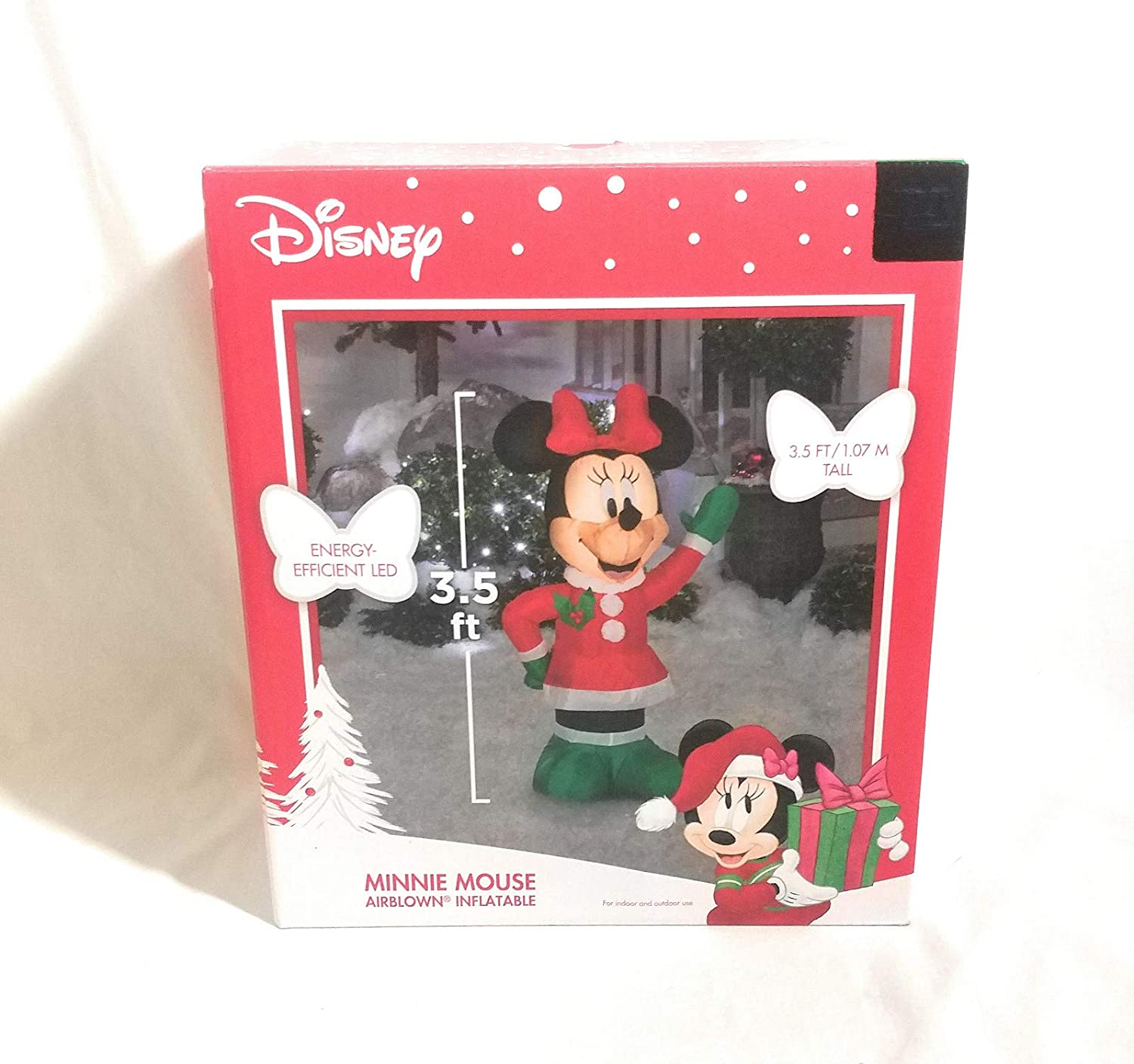 Holiday Inflatables Waving Minnie Mouse
