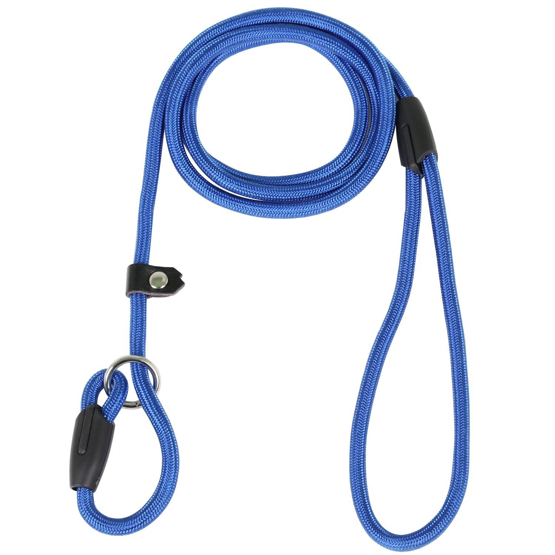 DIGIFLEX rutschfeste Hunde Leine Nylon und Baumwolle Training strapazierfähigem verstellbares Halsband