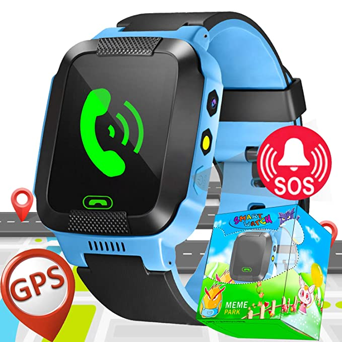 Amazon.com: Kids Smart Watch Phone with SIM Card Slot GPS ...