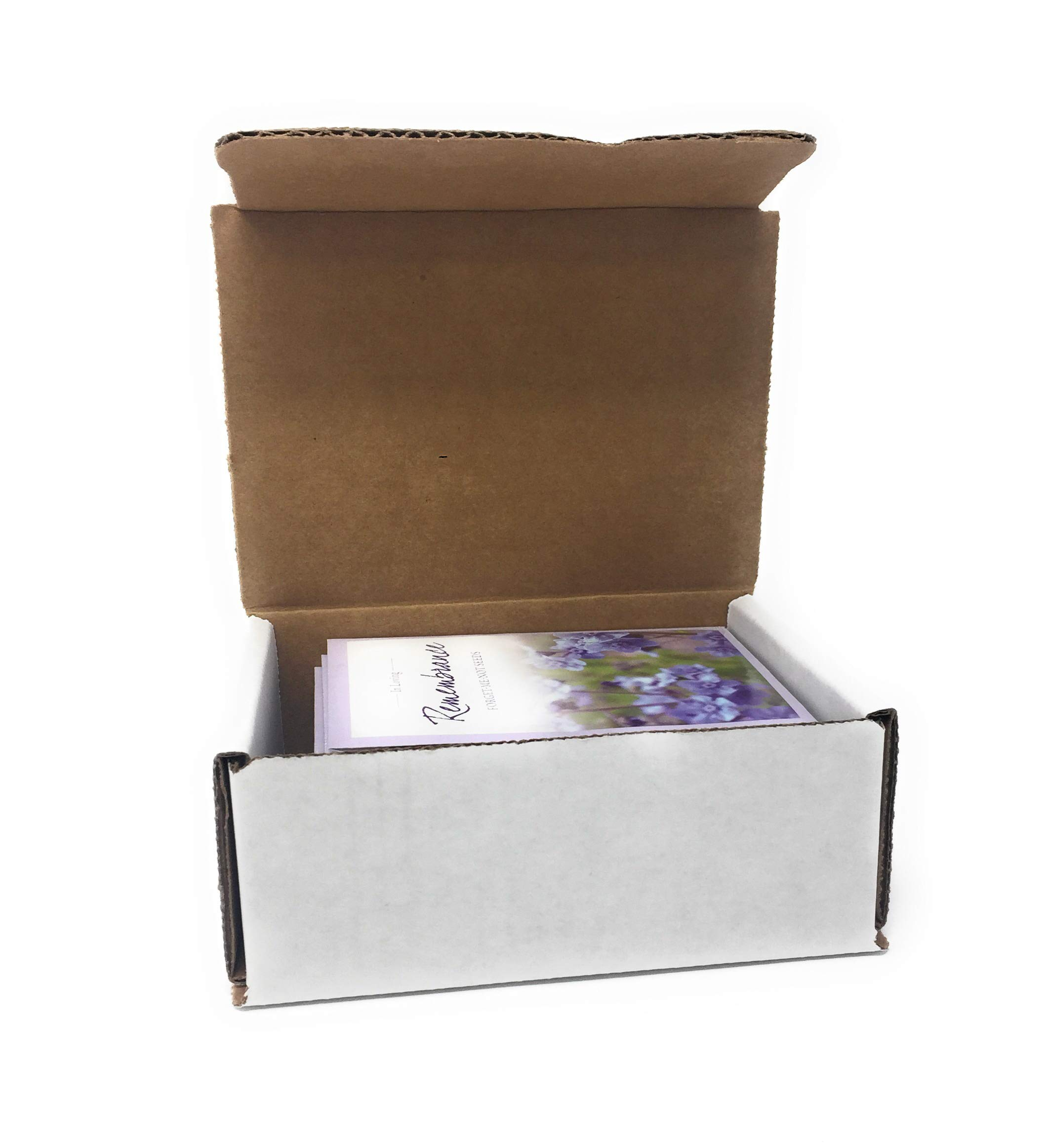 in Loving Remembrance - Individual Forget Me Not Flower Seed Packet Favors - Ready to Give - Pack of 20 by American Meadows (Image #3)