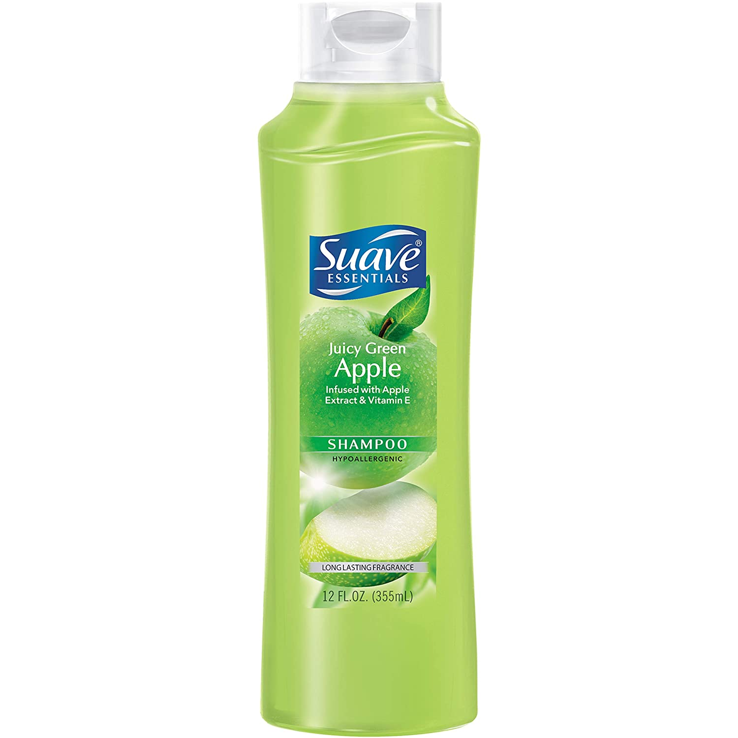 Suave Naturals Shampoo Juicy Green Apple 12 oz (Pack of 2)