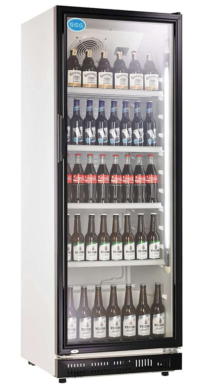Flaschenkühlschrank mit Glastür 230 Liter Getränkekühlschrank ...