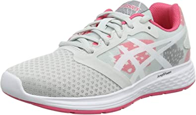 Asics Patriot 10 GS SP, Zapatillas de Running para Niños, Multicolor (Glacier Grey/Pink Cameo 022), 40 EU: Amazon.es: Zapatos y complementos