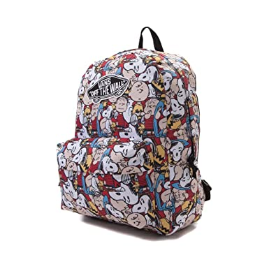 vans backpack peanuts