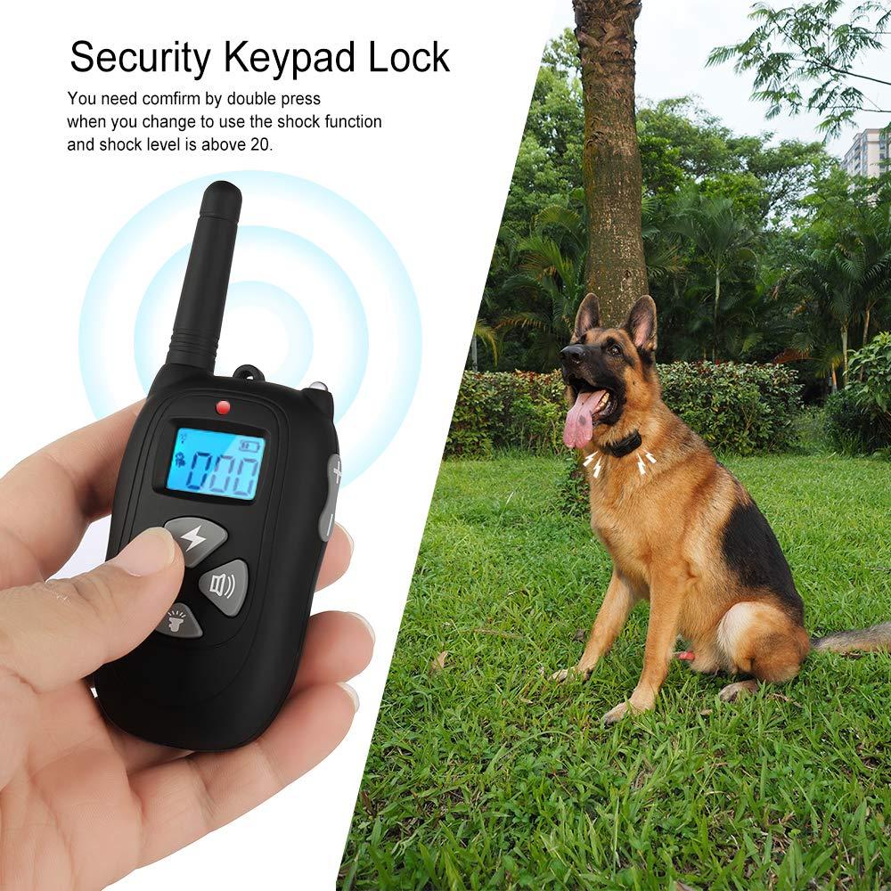 Amazon.com: chauder perro Collar de entrenamiento con mando ...