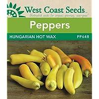 Pepper Seeds - Hungarian Hot Wax