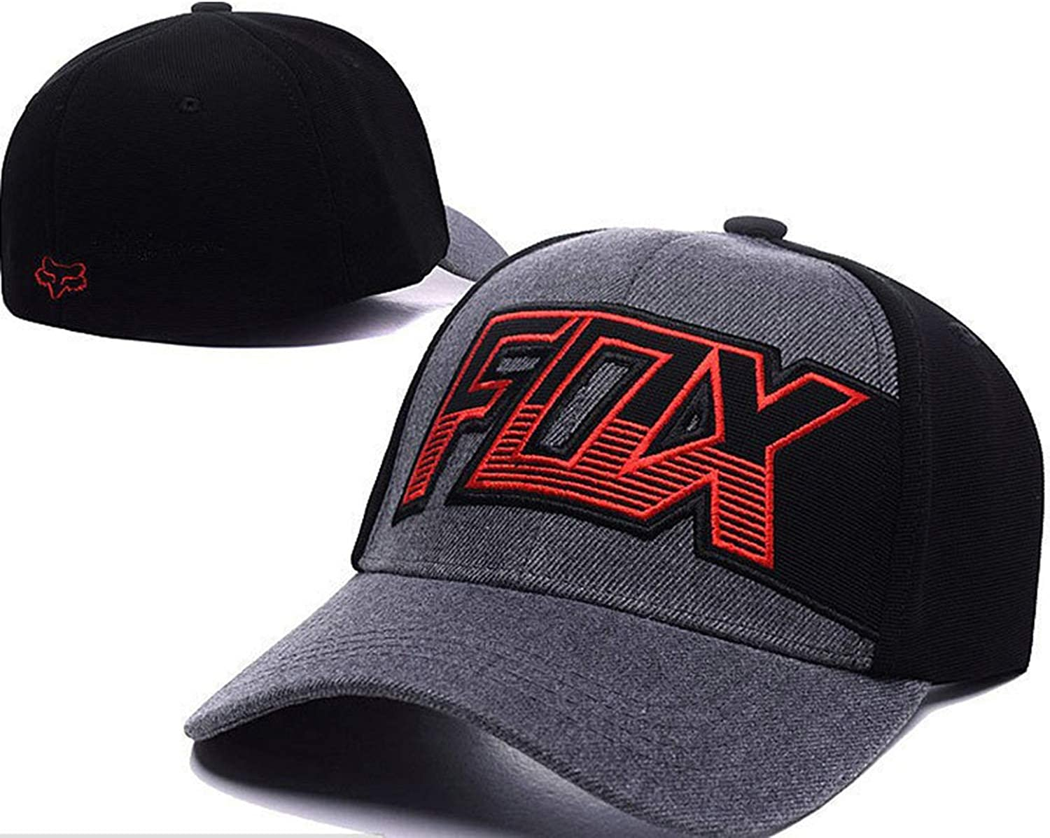 Fashion Fox Baseball Cap Women Men Motor Sports Hat Unisex Cartoon Pattern Embroidery Caps Hip Hop Hats CP0273
