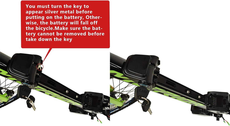 Germany warehouse EU No Tax 36V 14.5AH Li-ion E-Bike Battery with Charger Made of SAMSUNG INR18650-29E fits 36V 500W motor