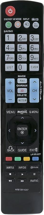 New Remote AKB73275675 Replace for LG TV 42CS570 47CS570-UB  50LS4000-UA 47CS570
