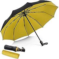 DORRISO Vogue Automático Plegable Paraguas Mujer Hombres Portátil Viajar Paraguas Antiviento Impermeable Unisexo…
