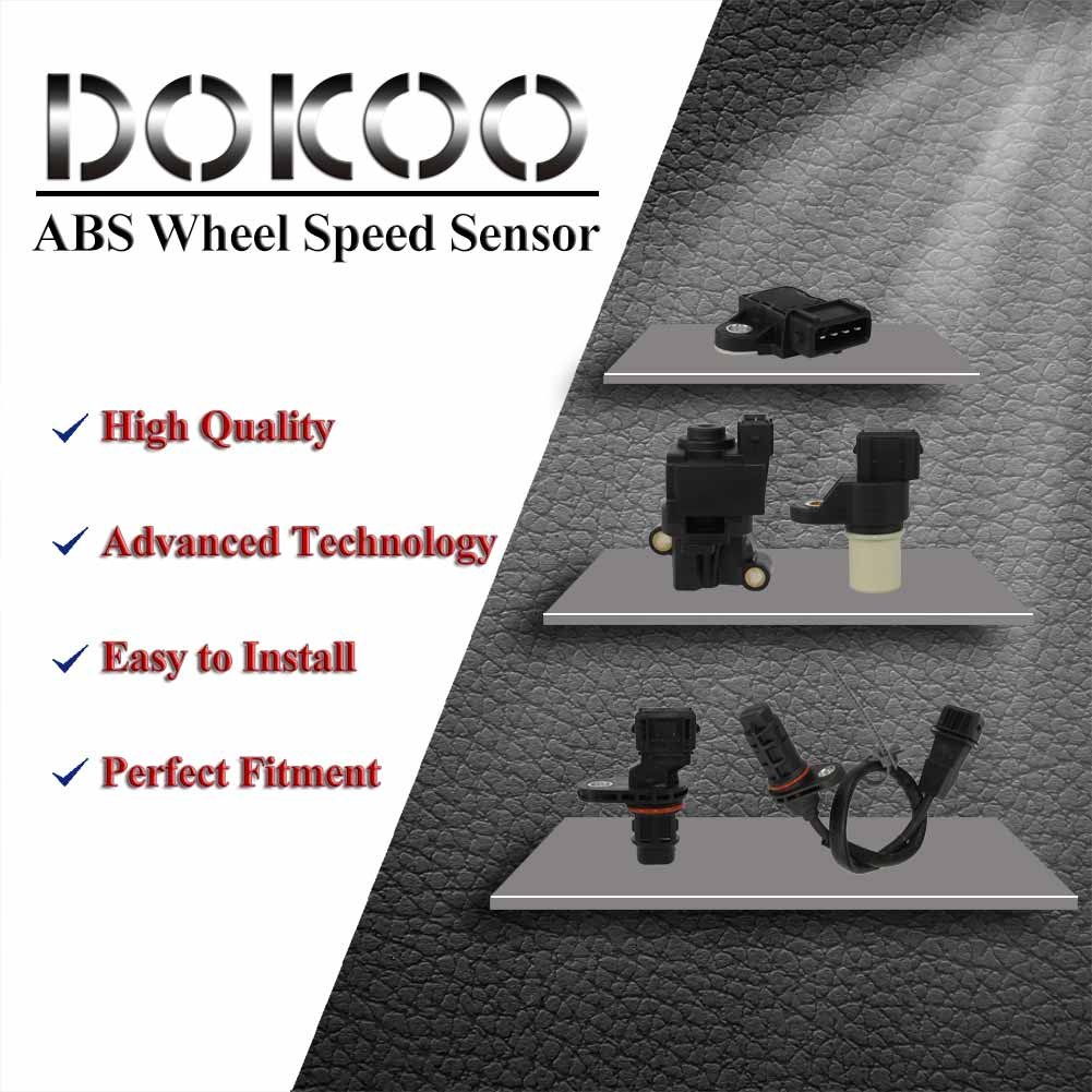 DOICOO ABS Wheel Speed Sensor Switch Front Left Right Fit 96626078 for Chevy Captiva Sport Equinox Pontiac Torrent Saturn Vue Suzuki XL-7 2007 2008 2009 2012 2013 2014 2015
