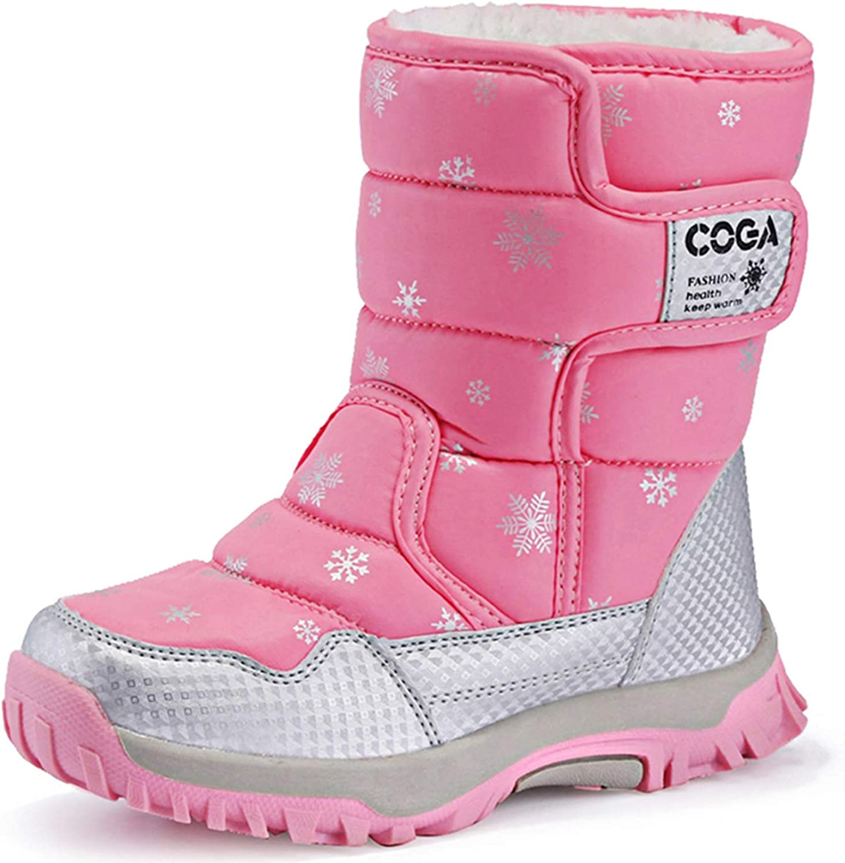 Amazon.com | JACKSHIBO Girls Boys Outdoor Waterproof Winter Snow Boots( Toddler/Little Kid/Big Kid) | Snow Boots