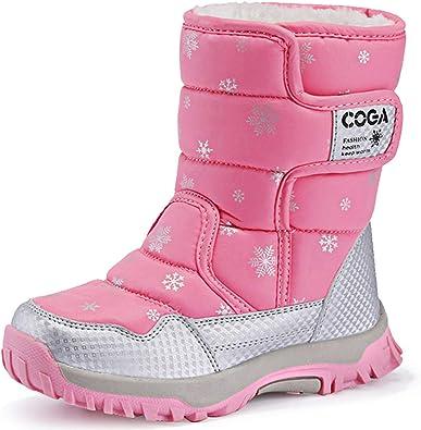 girls pink snow boots