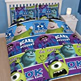 Monsters Inc University Double Duvet Bedding Set