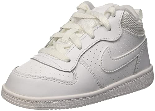 super popular f6355 2ff0b Nike Unisex - Bimbi 0-24 Court Borough Mid (TD) Scarpe Sportive ...