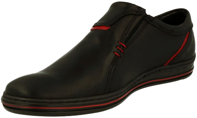 Polbut - botas sin cordones hombre , color Negro, talla 40 EU