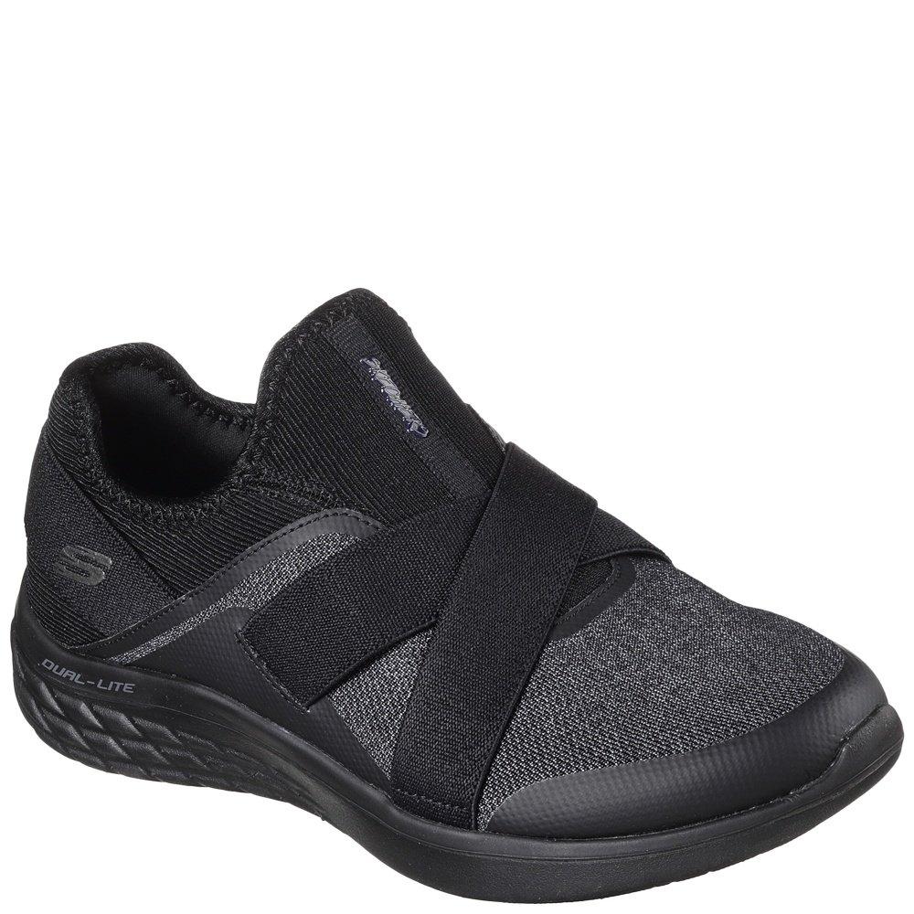 Noir 36 EU Skechers 12953 Chaussures Sports Femmes