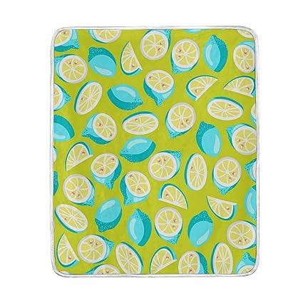Amazon.com  ColourLife Soft Blanket Throw Cozy Warm Flannel Fleece ... 7fe88cda2