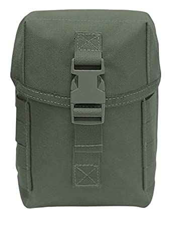 Zippered Molle-System Utility Pistol Pouch Mehrzwecktasche Army Outdoor Airsoft NATO-Rucksäcke & -Taschen