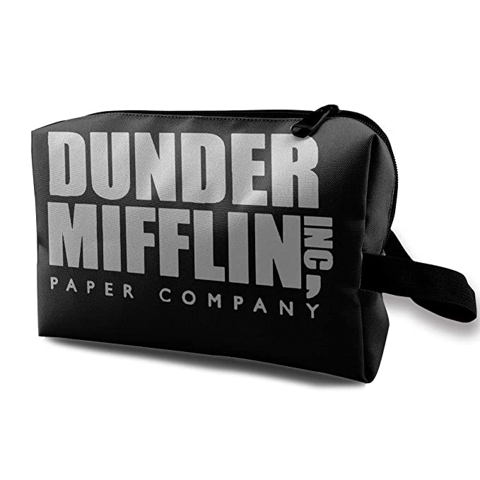 33f4261544f5 Amazon.com: Dunder Mifflin The Office Makeup Bag Travel ...