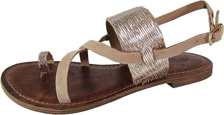 Freebird by Steven Womens Ocean Suede Metallic Wrap Sandal Shoes