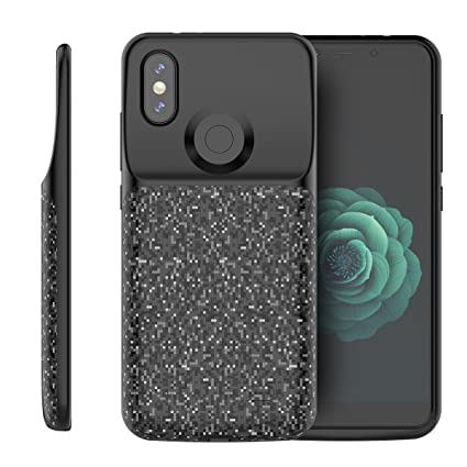 Amazon.com: Scheam Xiaomi Mi A2/6X Battery Case, External ...