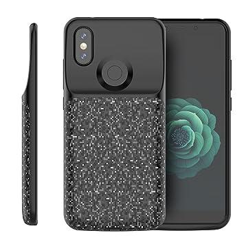 Amazon.com: Scheam Xiaomi Mi A2/6X Battery Case, External ...