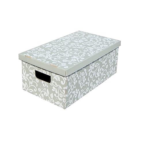 Decorative Storage Box Amazoncouk Beauteous Decorative Photo Storage Boxes
