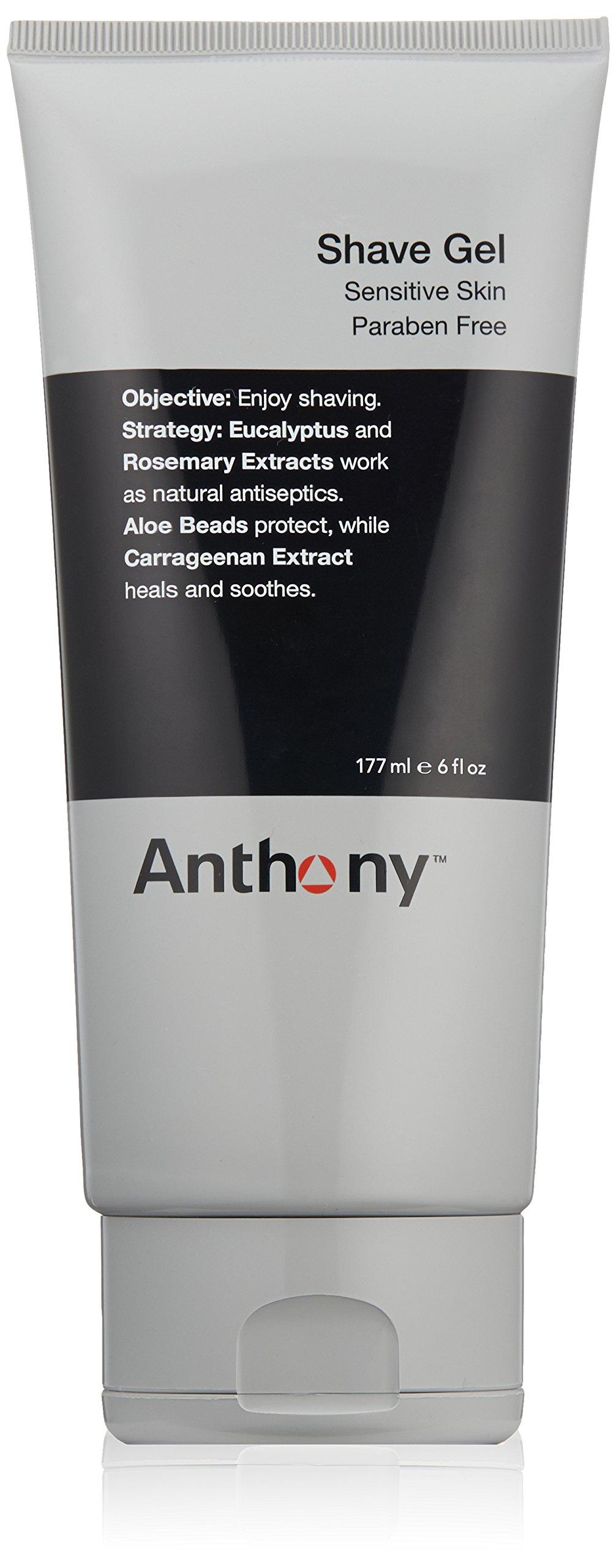 Anthony Shave Gel, 6 fl. oz.