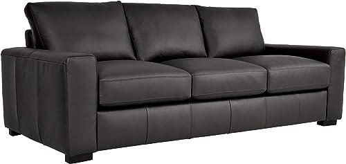 Homelegance 86″ Leather Sofa - the best living room sofa for the money