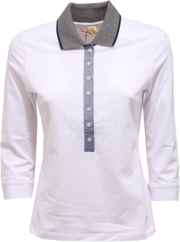 Fay 9215V Maglia Donna Polo White Polo t-Shirt Woman
