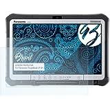 HD-Entspiegelung FX Folie atFolix Schutzfolie kompatibel mit Panasonic ToughBook CF-D1 Displayschutzfolie 2X