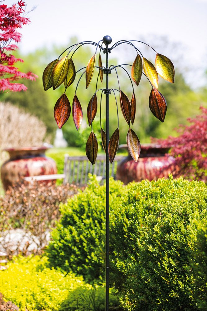 Evergreen Enterprises 3 Tiered Tree Kinetic Wind Spinner by Evergreen Enterprises