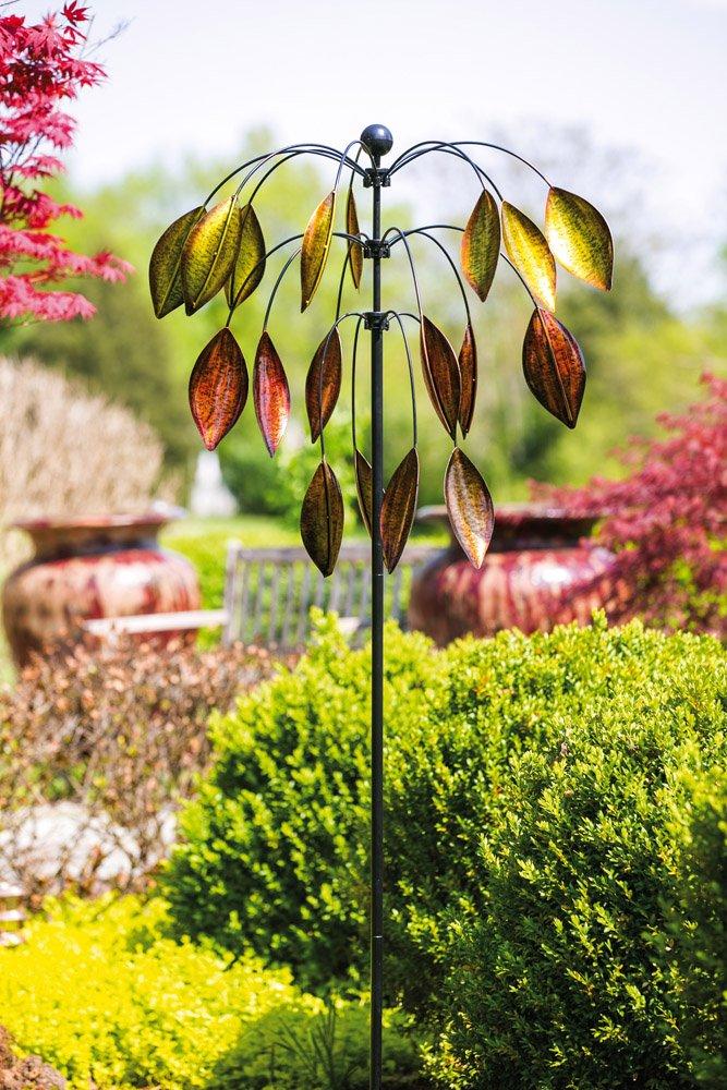 Evergreen Enterprises 3 Tiered Tree Kinetic Wind Spinner by Evergreen Enterprises