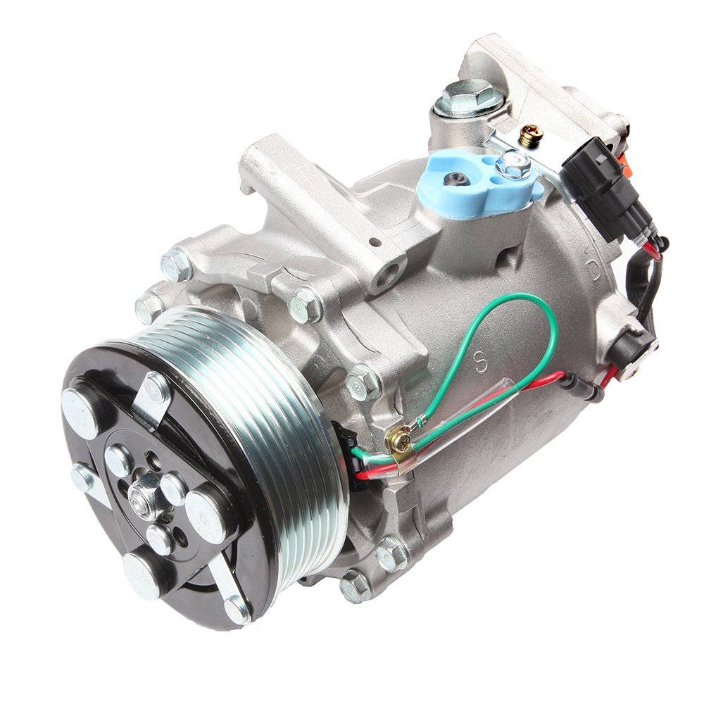 ECCPP Compatible fit for AC Compressor and A/C Clutch CO 4919AC Automotive Replacement Compressor Assembly for 2006-2010 Acura CSX 2.0L 2006-2011 Honda Civic 104142-5211-1438161