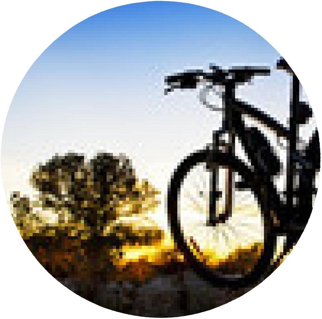 alfombrilla de ratón bicicleta de montaña en el paisaje: Amazon.es ...